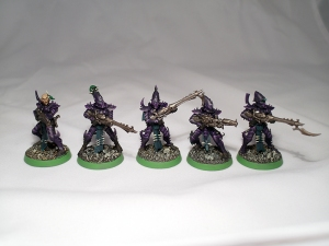 Dark Eldar Warriors - click to enlarge