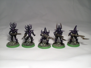 Classic Dark Eldar Warriors - click to enlarge
