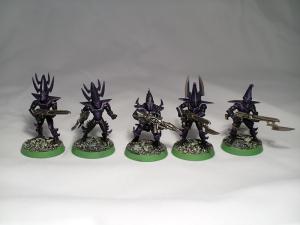 Classic Dark Eldar Warriors - click to enlarge