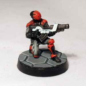 Auxilia with Combi-Rifle - click to enlarge