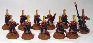 Eldar Fire Dragons - click to enlarge