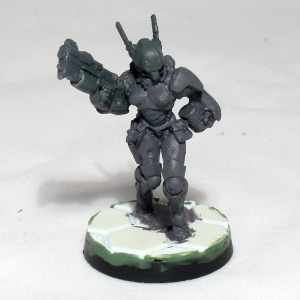 Converted ORC Troop with Spitfire (Guarda De Assalto proxy, work in progress) - click to enlarge