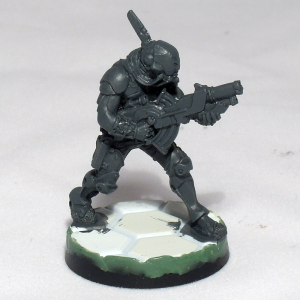 Kamau with Light Grenade Launcher (work in progress) - click to enlarge