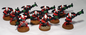 Eldar Warp Spiders - click to enlarge