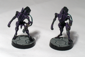 Devabots (with PVA varnish) - click to enlarge