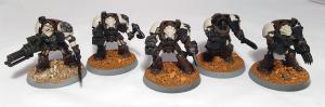 Wolf Guard Terminators (work in progress) - click to enlarge