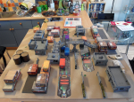 Train Rescue table setup - click to enlarge