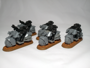 Space Marine Bikers (work in progress) - click to enlarge