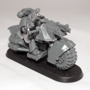 Space Marine bike detail (work in progress) - click to enlarge