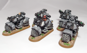 Space Marine Bike Squad - click to enlarge