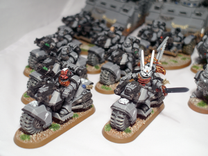 Space Marine Bikes - click to enlarge