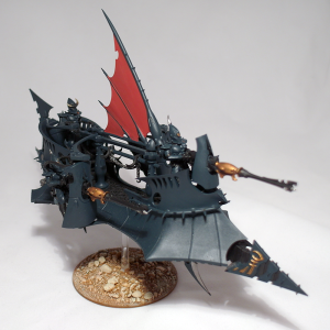 Dark Eldar Ravager (work in progress) - click to enlarge