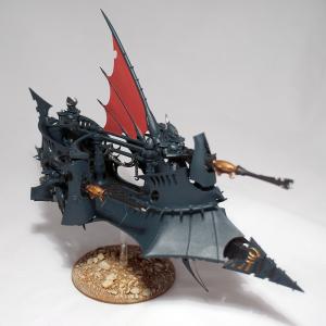 Dark Eldar Ravager (work in progress) - click to enlarge
