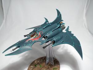 Dark Eldar Razorwing Jet Figher - click to enlarge