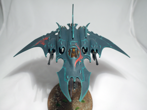 Dark Eldar Razorwing Jet Figher - click to enlarge