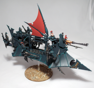 Dark Eldar Raider (work in progress) - click to enlarge