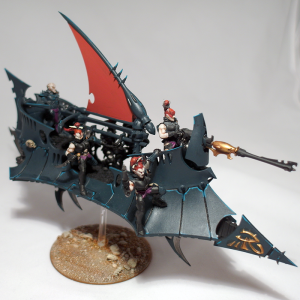 Dark Eldar Raider (work in progress) - click to enlarge