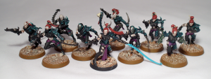 Dark Eldar Wyches - click to enlarge