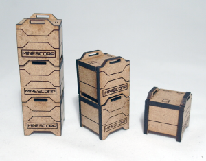 Assembled Crates - click to enlarge