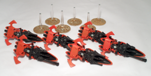 Windrider Jetbikes with magnetised bases - click to enlarge