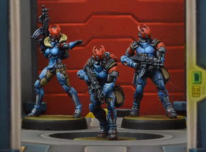Neoterran Bolts - reproduced without permission from Blue Table Painting/Corvus Belli - click to enlarge