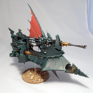Dark Eldar Ravager - click to enlarge