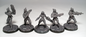 Aleph Myrmidons and officer - click to enlarge