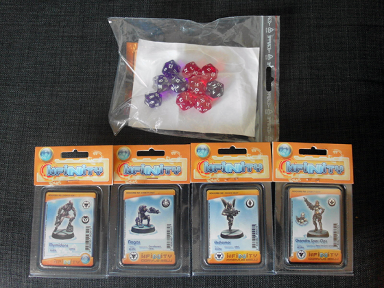 My bag of non-terrain goodies from Salute - click to enlarge