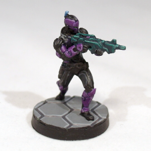 Myrmidon with Combi Rifle - click to enlarge