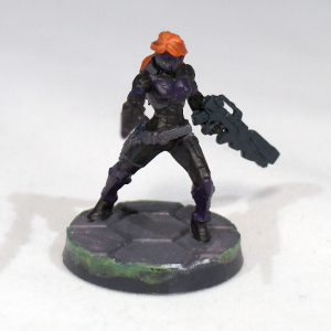 Myrmidon Officer with Boarding Shotgun (work in progress) - click to enlarge