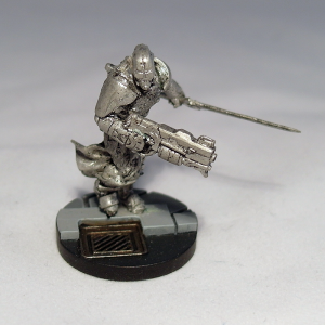 Knight of Montesa with Spitfire (work in progress) - click to enlarge