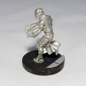 Order Sergeant with Spitfire (work in progress) - click to enlarge