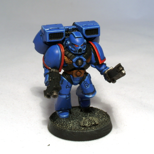 Ultramarine commission (work in progress) - click to enlarge