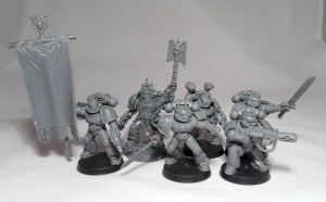 Ultramarine Command Squad - click to enlarge