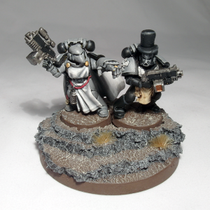 Space Marine Bride and Groom - click to enlarge