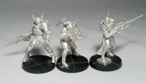 PanOceania ORC Trooper, Akal Commando and Nisse Sniper (work in progress) - click to enlarge