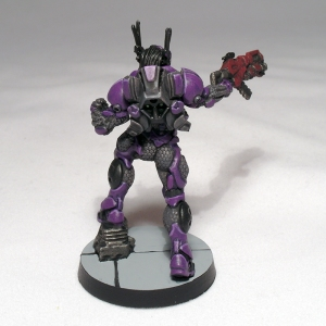 Mobile Brigada with Multi Rifle and Light Flamethrower - click to enlarge