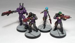 Mobile Brigada and 3 Alguaciles - click to enlarge