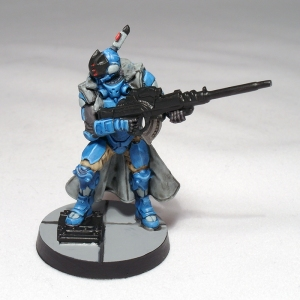 Nisse with Multi Sniper Rifle - click to enlarge
