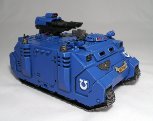 Ultramarines Razorback - click to enlarge