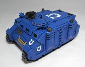 Ultramarines Rhino - click to enlarge