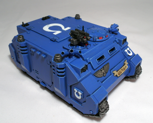 Ultramarines Rhino - click to enlarge