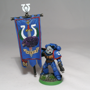 Ultramarine Standard Bearer - click to enlarge