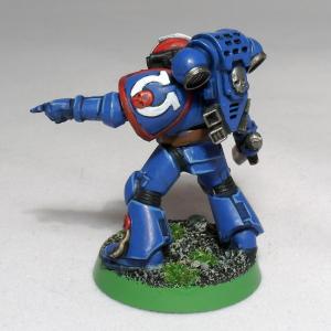 Ultramarine Veteran Sergeant - click to enlarge
