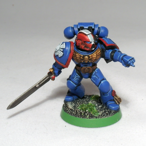 Ultramarine Veteran Sergeant - click to enlarge