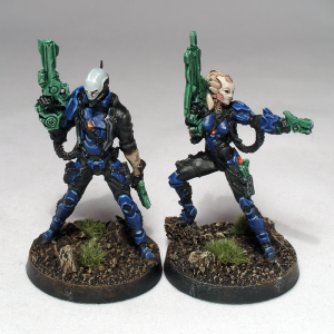 Hatail Spec Ops and Aelis Keesan on new bases - click to enlarge