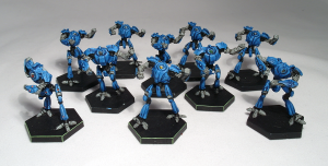 Dreadball Robot team (work in progress) - click to enlarge