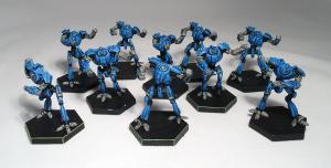 Dreadball Robot team (work in progress) - click to enlarge