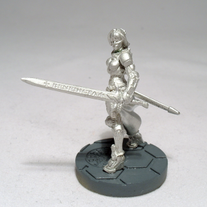 Limited Edition Joan of Arc (work in progress) - click to enlarge