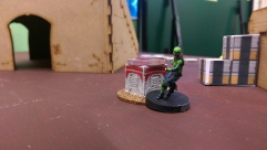 One of Will's Order Sergeants captures an objective